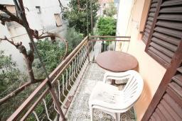 Балкон. Черногория, Зеленика : Студия для 4 человек, с балконом