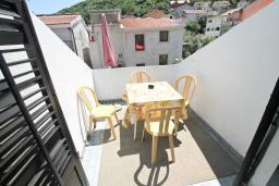 Балкон 2. Черногория, Будва : Апартамент с 2-мя отдельными спальнями, с 2-мя балконами