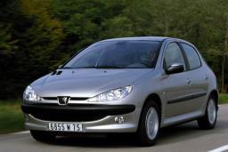 Peugeot 206 1.4 автомат : Черногория