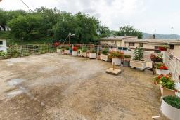 Терраса. Черногория, Зеленика : Апартамент с 2-мя отдельными спальнями, с террасой