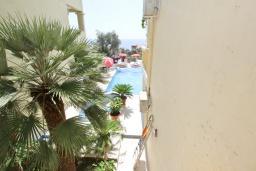 Вид на море. Черногория, Святой Стефан : Апартамент для 2-3 человек, с отдельной спальней, с балконом с видом на море