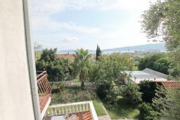Вид на море. Черногория, Биела : Студия для 2 человек, с балконом с видом на море