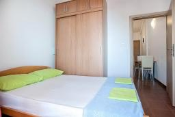 Bed room 2. Montenegro, Petrovac : Apartment with 1 bedroom in Petrovac