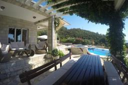 Terrace. Montenegro, Przno & Milocer : Villa with 2 bedrooms in Przno & Milocer for 6 guests