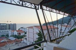 Balcony. Montenegro, Petrovac : Flat with 2 bedrooms in Petrovac
