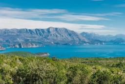 Вид на море. Черногория, Кримовица : Вилла с бассейном и шикарным видом на море, гостиная, 4 спальни, 3 ванные комнаты, терраса для отдыха, Wi-Fi