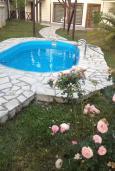 Бассейн. Черногория, Сутоморе : Вилла с бассейном, большая гостиная, 5 спален, 4 ванные комнаты, место для барбекю, Wi-Fi