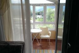 Балкон. Черногория, Селяново : Апартамент с гостиной и отдельной спальней