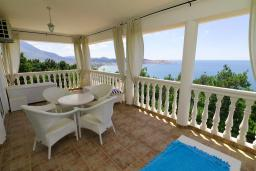 Balcony. Montenegro, Susanj : Villa with 5 bedrooms in Susanj for 10 guests