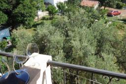 Балкон. Черногория, Будва : Двухместный номер с 1 кроватью и видом на горы