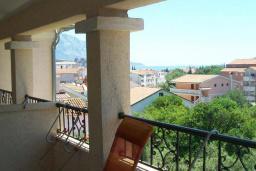 Балкон. Черногория, Будва : Апартаменты-студио с видом на море