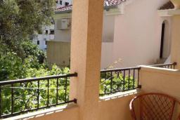 Балкон. Черногория, Будва : Одноместный номер