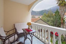 Балкон. Черногория, Будва : Двухместный номер с 1 кроватью и балконом