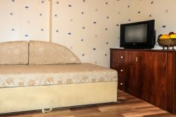 Гостиная. Черногория, Рафаиловичи : Апартамент №20 с отдельной спальней и видом на море (APP 02+2 SV)