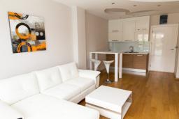 Гостиная. Черногория, Рафаиловичи : Апартамент с отдельной спальней и видом на море (APP 04 SV)
