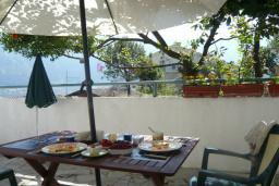 Terrace. Montenegro, Prcanj : House with 2 bedrooms in Prcanj for 5 guests