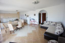 Гостиная. Черногория, Сутоморе : Вилла с двориком, 4 спальни, 2 ванные комнаты, барбекю, парковка, Wi-Fi