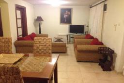 Гостиная. Черногория, Столив : Трехэтажный дом в 10 метрах от моря, 3 гостиные, 5 спален, 3 ванные комнаты, зеленый сад, барбекю, парковка, Wi-Fi
