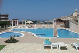 Бассейн. Черногория, Добра Вода : Стандартная вилла с большой территорией и общим бассейном, 2 спальни, парковка, барбекю, Wi-Fi