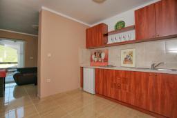 Кухня. Черногория, Зеленика : Прекрасная вилла с бассейном и зеленым двориком с барбекю, 2 гостиные, 3 спальни, 2 ванные комнаты, парковка, Wi-Fi
