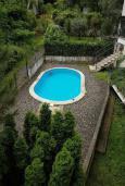 Бассейн. Черногория, Ораховац : Прекрасная вилла с бассейном и патио с видом на море, 20 метров до пляжа, 2 спальни, парковка, Wi-Fi