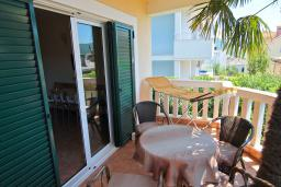Balcony. Montenegro, Herceg-Novi : Apartment with 1 bedroom in Herceg-Novi