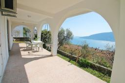 Terrace. Montenegro, Herceg-Novi : Studio with 0 BEDRS1_0 in Herceg-Novi