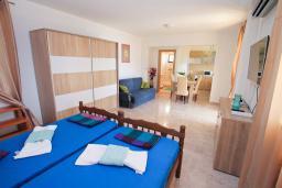 Студия (гостиная+кухня). Черногория, Герцег-Нови : Современная студия с террасой и видом на море