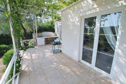 Terrace. Montenegro, Bigova : Villa with 3 bedrooms in Bigova for 8 guests