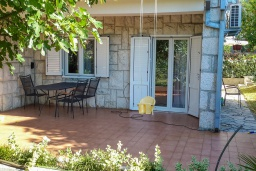 Terrace. Montenegro, Djenovici : House with 4 bedrooms in Djenovici for 8 guests