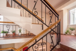 Stairs. Montenegro, Becici : Apartment with 1 bedroom in Becici