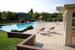 Территория. Черногория, Сутоморе : Роскошная вилла с бассейном и зеленым двориком, 4 спальни, 4 ванные комнаты, сауна, парковка, Wi-Fi