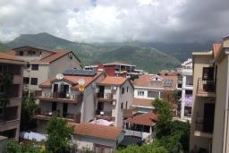 Вид. Черногория, Будва : Современная студия в 80 метрах от пляжа