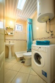 Bath room. Montenegro, Becici : Studio in Becici