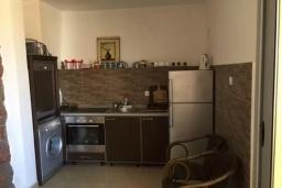 Кухня. Черногория, Рафаиловичи : Современный апартамент с гостиной, двумя спальнями и террасой