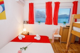 Bed room. Montenegro, Njivice : Studio in Njivice