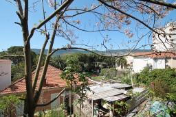 Вид. Черногория, Герцег-Нови : Апартамент с отдельной спальней в 100 метрах от моря