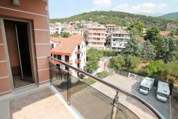Балкон. Черногория, Игало : Шикарный апартамент с большой гостиной и двумя спальнями