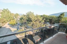 Balcony 2. Montenegro, Igalo : Apartment with 2 bedrooms in Igalo