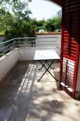 Балкон. Черногория, Игало : Студия на 1 этаже с балконом на вилле с бассейном