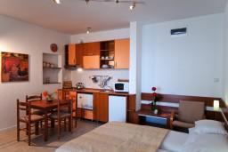 Гостиная. Черногория, Герцег-Нови : Апартамент Лаванда в Савина