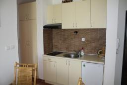 Кухня. Черногория, Игало : Уютный апартамент со всем необходимым для полноценного отдыха