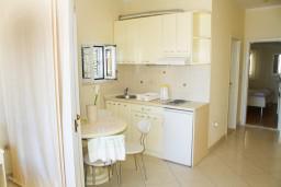 Кухня. Черногория, Герцег-Нови : Люкс апартамент на 4-х человек с двумя отдельными спальнями и отделённой кухней.