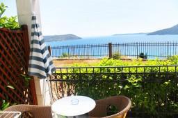 Вид на море. Черногория, Герцег-Нови : Студия с террасой и видом на море
