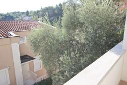 Вид. Черногория, Петровац : Апартамент с отдельной спальней, с балконом в 150 метрах от моря