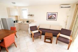 Гостиная. Черногория, Петровац : Уютный апартамент в 30 метрах от моря