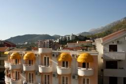 Вид. Черногория, Рафаиловичи : Студия с видом на море, 50 метров от пляжа