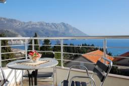 Вид на море. Черногория, Бечичи : Студия в Бечичи с видом на море