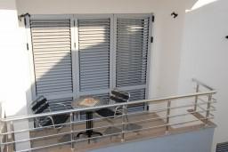 Балкон. Черногория, Бечичи : Студия в Бечичи в 200 метрах от моря