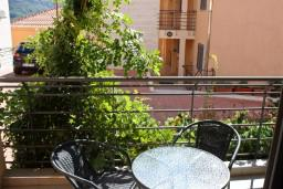 Balcony. Montenegro, Becici : Apartment with 1 bedroom in Becici